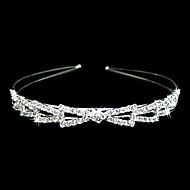 liga lindo com clara de cristal headband casamento headpiece / noivas