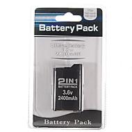batería para Sony PSP 2000/3000 (2400mAh)