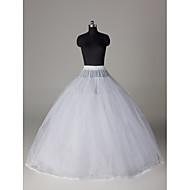 Underklänningar Balklänning Underkjol Golvlång 8 Nylon Tyllnät