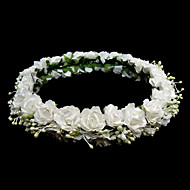 Paper Flower Bridal Headpiece/ Garland