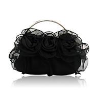 involucro di seta con borsette da sera fiore / frizioni / borse maniglia superiore più colori disponibili