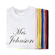 "Personalized ""MRS."" T-shirt"