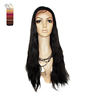 Full Lace Extra Long Silky Straight 100% India Reme Hair Wig Multiple Colors To Choose