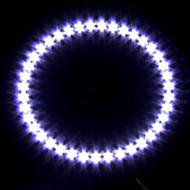 far masina / lumina decorative (înger de lumină ochi, 39 LED-uri, 12cm, alb)