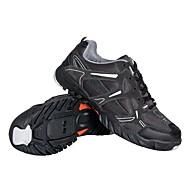 cowsuede 가죽과 상단 통기성 메쉬와 자전거 MTB SPD 신발 & 캐주얼 신발