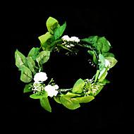 Women's/Flower Girl's Satin/Paper Headpiece - Wedding/Special Occasion Flowers