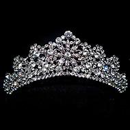 herkkä antiikki hopea tiara