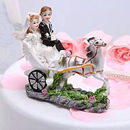 kake toppers hest og vogn brud& brudgommen kake topper