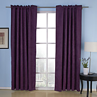 Commitment Embossed Blackout Thermal Curtains (Two Panels)