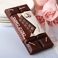 Chocolate Bar Candle Favor