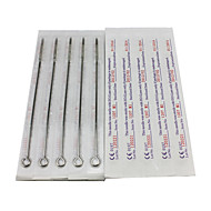 50PCS Sterile Stainless Steel Tattoo Needles 25 7M1 25 7RS