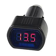 12V/24V digital førte auto bil / lastbil voltmeter gauge