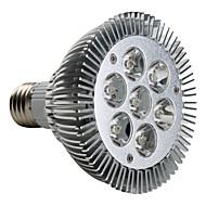7W E26/E27 LED Spotlight PAR30 7 High Power LED 680 lm Warm White AC 220-240 V