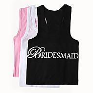 """geschenken bruidsmeisje gift """"bruidsmeisje"""" vest (meer kleuren)"""