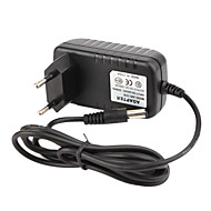 CCTV System Power Adapter + AC 100~240V 50/60Hz Input to DC 12V 1000mA Output + EU Standard