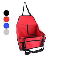 Kat / Hond Hoes Voor Autostoel Huisdieren manden draagbaar / Vouwbaar rood / zwart / blauw / grijs Textiel