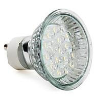 2W GU10 Lâmpadas de Foco de LED MR16 18 LED de Alta Potência 90 lm Branco Quente AC 220-240 V
