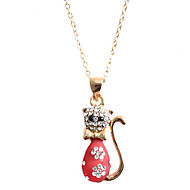 Women's Alloy Necklace Party/Daily/Causal/Outdoor Crystal