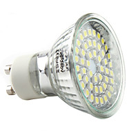 3W GU10 Spot LED MR16 48 SMD 3528 180 lm Blanc Naturel AC 100-240 V