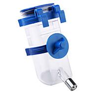Katze Hund Schalen & Wasser Flaschen Haustiere Schüsseln & Füttern Wasserdicht blau Kunststoff
