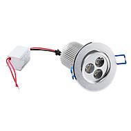 Plafonniers Blanc Chaud 9 W 3 LED Haute Puissance 900 LM 3000K K AC 85-265 V