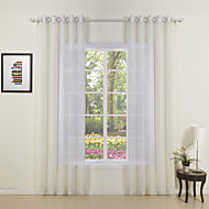 Otto Classic Sheer Curtain (Two Panels)