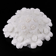 Lovely Tulle With Imitation Pearl Women's Hats