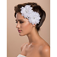 Women's Satin Headpiece - Wedding/Special Occasion/Casual/Outdoor Fascinators/Flowers