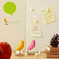 Lovely Bird with 8 Eggs Fridge Magnets (More Colors)