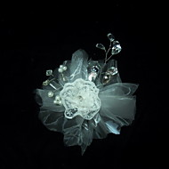 Women's Lace Headpiece - Wedding/Special Occasion Flowers