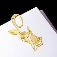 Marcadores y Abrecartas(Oro) -Tema Floral-No personalizado Aleación de zinc