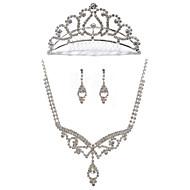 Ensemble de bijoux Alliage/Stras Femme