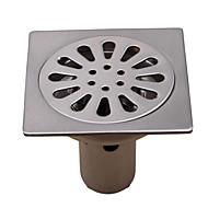 Bathroom Accessory Antique Brass Finish Solid Brass Floor Drain-LK-1044
