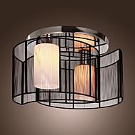 sl® plafondlamp modern design slaapkamer 2 lampen zwart