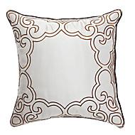 prakt silverbroderier dekorativa örngott
