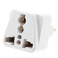 EU Plug to Multiple Plug Universal Travel Adapter (110-240V)
