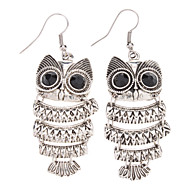 Vintage Style Owl Shape Earrings