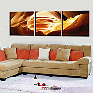 Stretched Canvas Print Abstract Landscape Set of 3 1301-0174