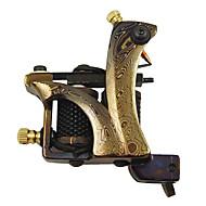 High Quality Damascus Steel Tattoo Machine Gun Shader