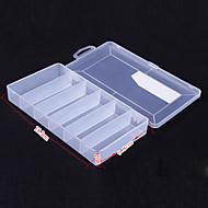 Tamanho Médio Transparente Lure Tackle Box Caixa