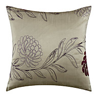 Modern Embroidery Polyester Decorative Pillow Cover