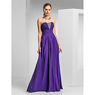 TS Couture® Prom / Formal Evening / Military Ball Dress - Elegant Plus Size / Petite A-line Strapless / Sweetheart Floor-length Chiffon with Beading /
