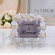 Place Cards and Holders Crystal Heart Placecard Holder/Photo Frame