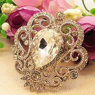 Women's Royal Big Diamond Brooch