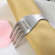 Diseño personalizado Tenedor de acero inoxidable Servilletero