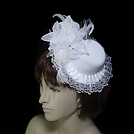Women's Lace/Feather/Tulle/Flannelette Headpiece - Wedding/Special Occasion Fascinators
