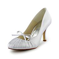 בלרינה\עקבים - נשים - נעלי חתונה - עקבים - חתונה - שחור / כחול / ורוד / סגול / אדום / שנהב / לבן / כסוף / זהב / שמפניה