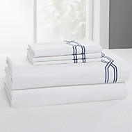 Simple&Opulence® Flat sheet, 300 TC 100% Cotton Solid White