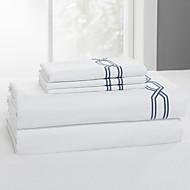 simples&opulence® folha plana, 300 tc 100% algodão branco sólido