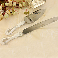 Serving Sets Wedding Cake Knife Personalized Rhinestones  Cake Serving Set In Resin Handle
